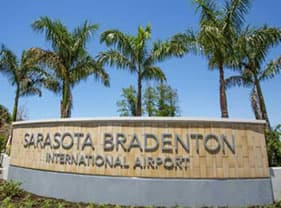 Sarasota Bradenton International Airport Sign